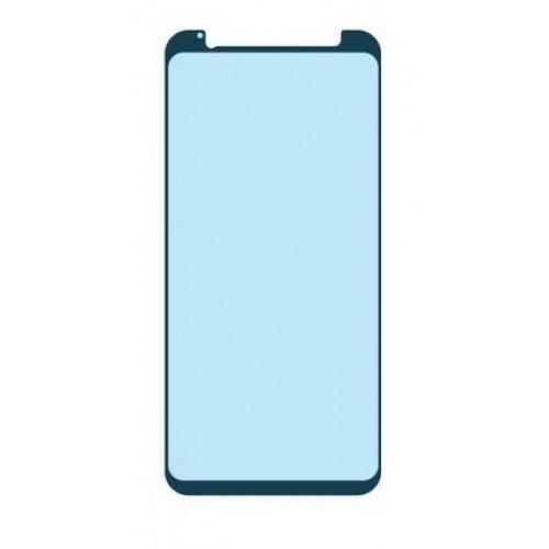 3D Full Glue Стъклен скрийн протектор за Samsung A720 Galaxy A7 2017 Светло Син