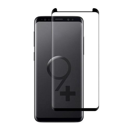 3D FULL GLUE Стъклен скрийн протектор за Samsung G965 Galaxy S9 Plus Черен