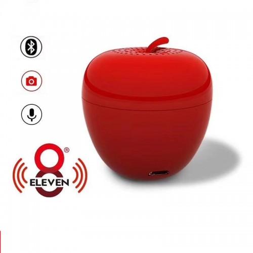 Bluetooth Мини Тон Колона Eight Eleven Ябълка Червена
