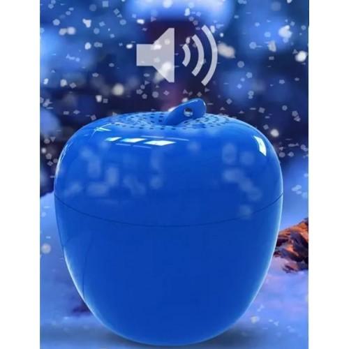 Bluetooth Мини Тон Колона Eight Eleven Ябълка Синя