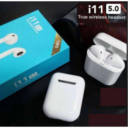 Bluetooth слушалки i11 Tws (touch control)