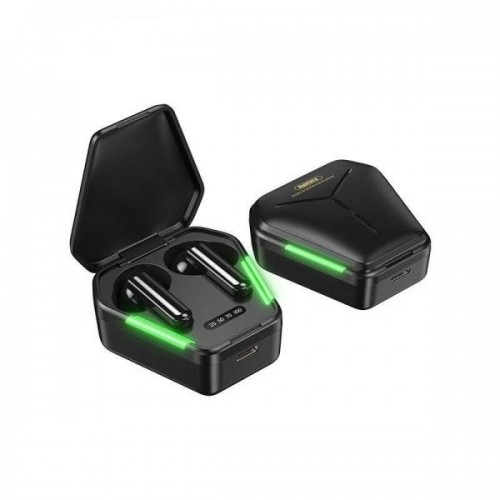 Bluetooth Wireless Gaming слушалки Remax TWS-30 Черни