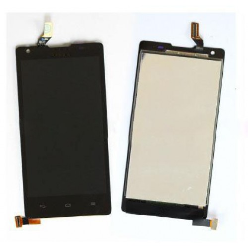 LCD Дисплей + Тъч Скрийн за Huawei G700 Черен