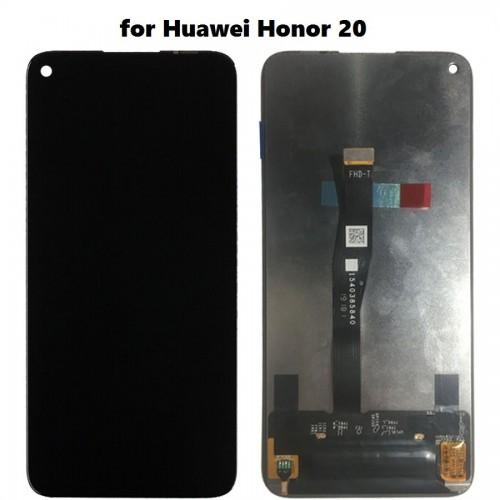 LCD Дисплей + Тъч Скрийн за Huawei Honor 20 Черен