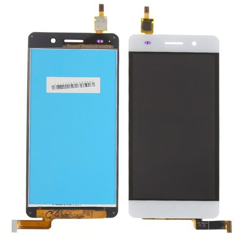 LCD Дисплей + Тъч Скрийн за Huawei Honor 4C Бял