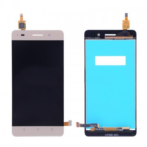 LCD Дисплей + Тъч Скрийн за Huawei Honor 4C Златен