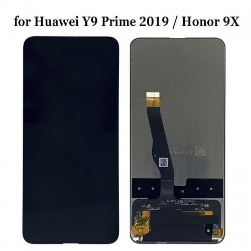 LCD Дисплей + Тъч Скрийн за Huawei Honor 9X Черен