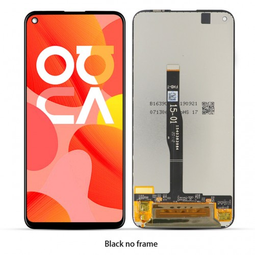 LCD Дисплей + Тъч Скрийн за Huawei P40 Lite Черен