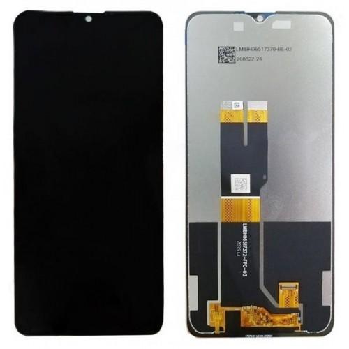LCD Дисплей + Тъч Скрийн за Nokia 2.4 Черен
