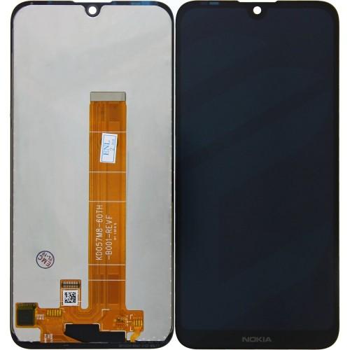LCD Дисплей + Тъч Скрийн за Nokia 4.2 Черен