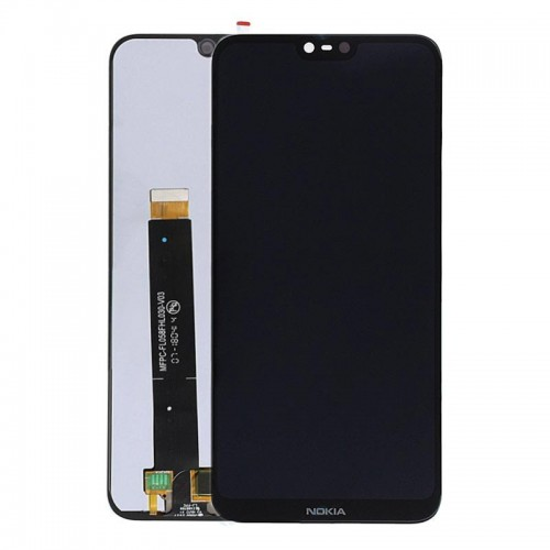 LCD Дисплей + Тъч Скрийн за Nokia 6.1 Plus Черен