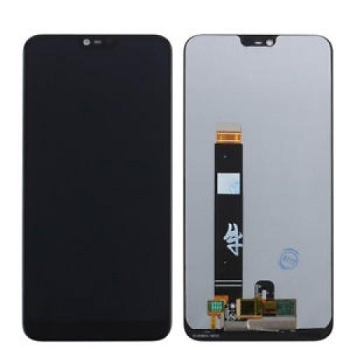 LCD Дисплей + Тъч Скрийн за Nokia 7.1 2018 Черен