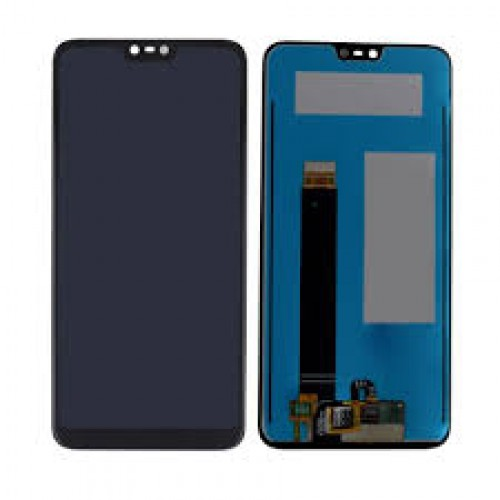 LCD Дисплей + Тъч Скрийн за Nokia 8.1 2018 Черен