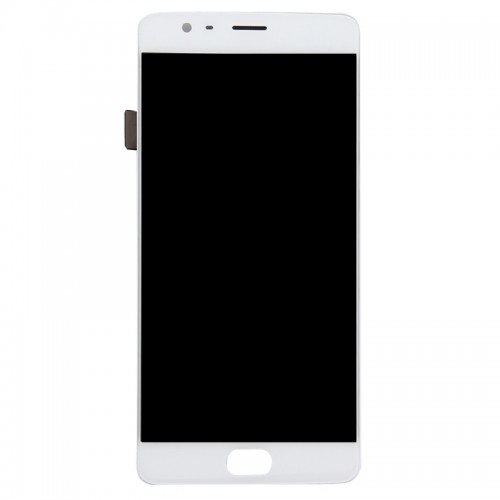 LCD Дисплей + Тъч Скрийн за OnePlus 3T Бял