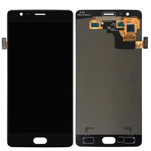 LCD Дисплей + Тъч Скрийн за OnePlus 3T Черен