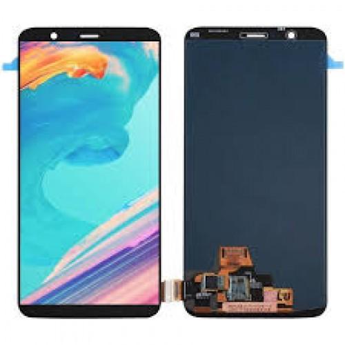 LCD Дисплей + Тъч Скрийн за OnePlus 5T Черен