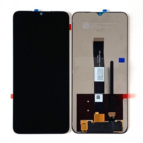 LCD Дисплей + Тъч Скрийн за Xiaomi Redmi 9C NFC Черен