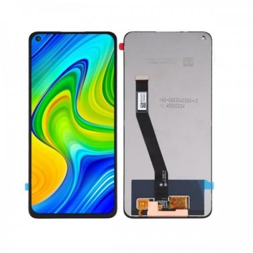LCD Дисплей + Тъч Скрийн за Xiaomi Redmi Note 9 / Note 10X Черен Оригинал