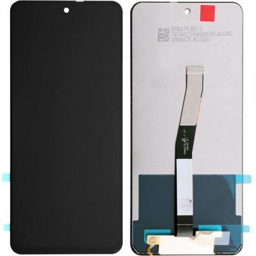 LCD Дисплей + Тъч Скрийн за Xiaomi Redmi Note 9 Pro / Note 9S Черен Оригинал