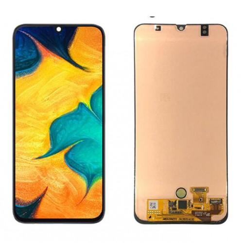 INCELL Съвместим LCD Дисплей + Тъч скрийн за Samsung A305 Galaxy A30 Черен