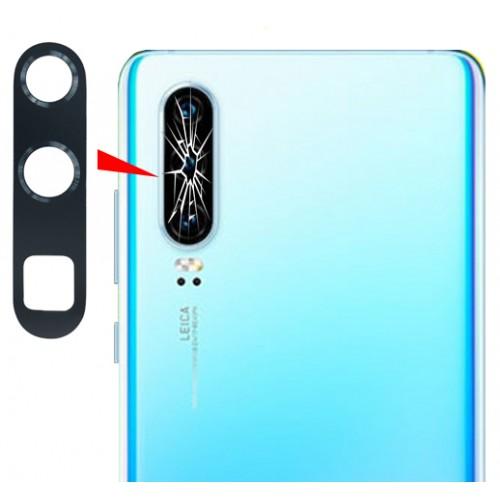 Стъкло за камера за Huawei P30 Pro Черно