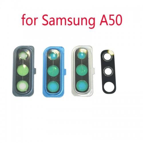 Стъкло за камера за Samsung A505 Galaxy A50 Сребърно