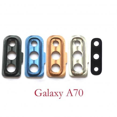 Стъкло за камера за Samsung A705 Galaxy A70 Графит