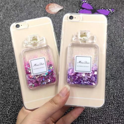 Гръб парфюм за Apple iPhone X / XS Лилав