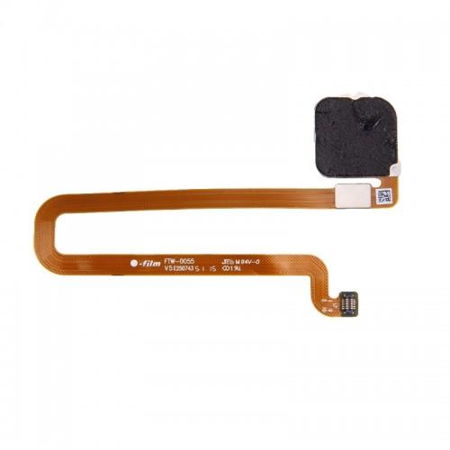 Лентов кабел Home бутон за Huawei Mate 8 FingerPrint Сребрист
