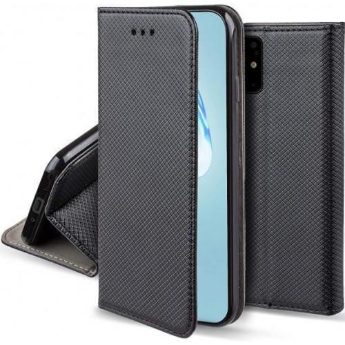 Flip калъф MAGNET за Samsung A525 / A526 Galaxy A52 4G / A52 5G Черен