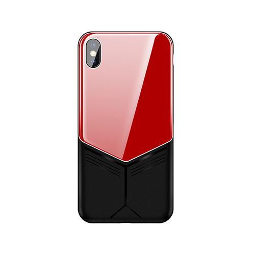 Калъф JOYROOM Curved Glass за Apple iPhone XS MAX 6.5 Червен