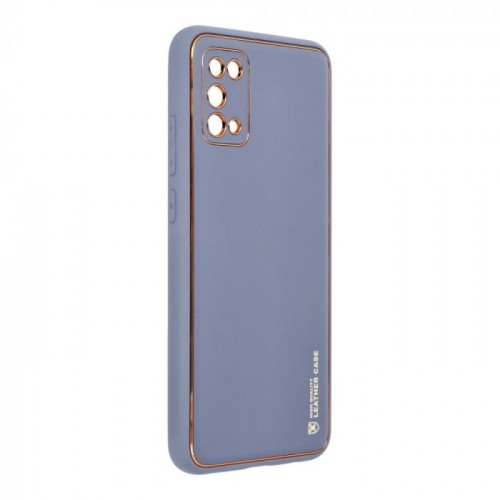 Forcell кожен калъф за Samsung A025 Galaxy A02s Лилав