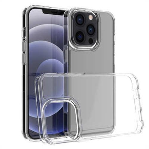 Акрилен силиконов 1,5 mm прозрачен гръб за Apple iPhone 13 Pro MAX