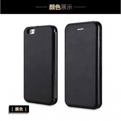 Flip калъф Бизнес серия за Apple iPhone X Черен