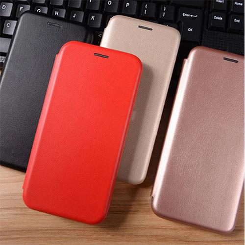 Flip калъф Бизнес серия за Huawei Mate 20 Lite Червен