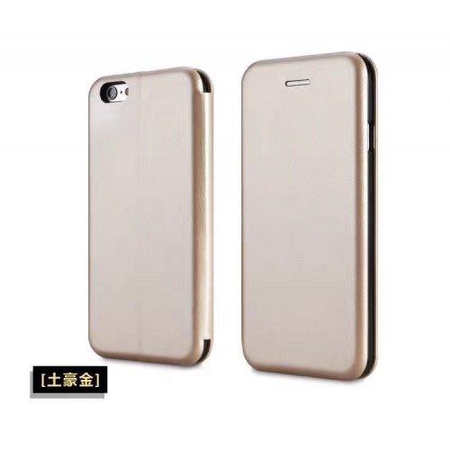 Flip калъф Бизнес серия за Huawei P Smart Златен