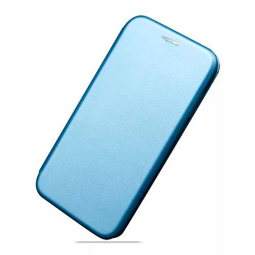 Flip калъф Бизнес серия за Motorola Moto One (P30 Play) Тюркоаз