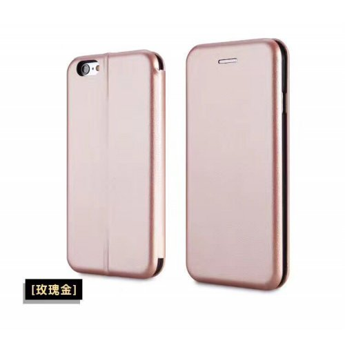 Flip калъф Бизнес серия за Nokia 6 (2018) Розово Злато