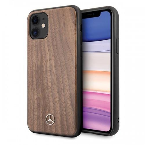 Оригинален калъф Mercedes за Apple iPhone 11 Wood