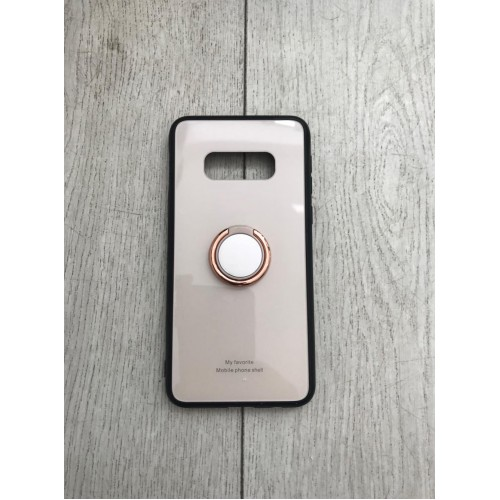 Калъф Glass Case за Samsung A505 Galaxy A50 Gold