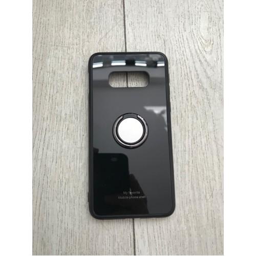 Калъф Glass Case за Samsung G970 Galaxy S10e Черен