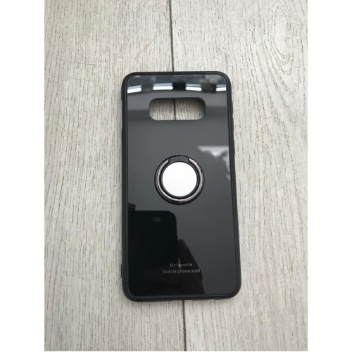 Калъф Glass Case за Samsung G973 Galaxy S10 Черен