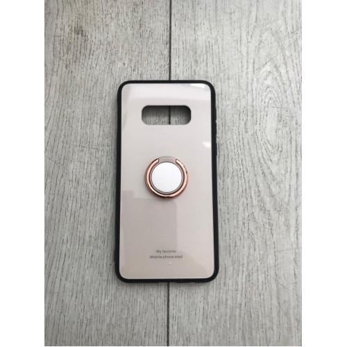 Калъф Glass Case за Samsung G973 Galaxy S10 Gold