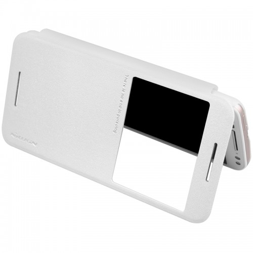 Flip калъф S-View за Huawei P9 Lite mini Бял