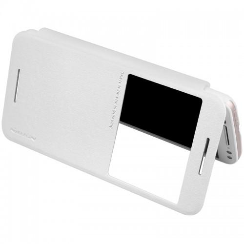 Flip калъф S-View за Sony Xperia XZ1 Бял
