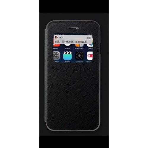 Flip калъф UFO за Samsung G920 Galaxy S6 Черен