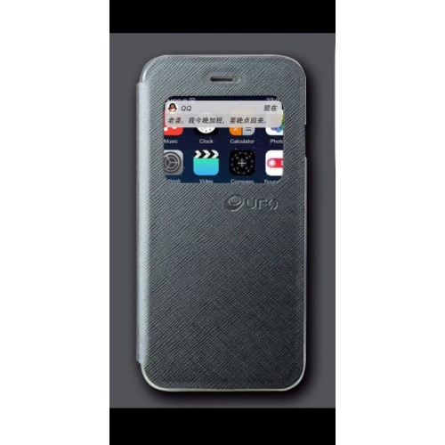 Flip калъф UFO за Samsung G920 Galaxy S6 Графит