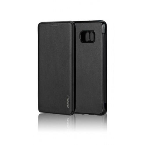 Flip калъф Rock Touch за Samsung A800 Galaxy A8 Черен