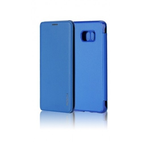Flip калъф Rock Touch за Samsung A800 Galaxy A8 Син