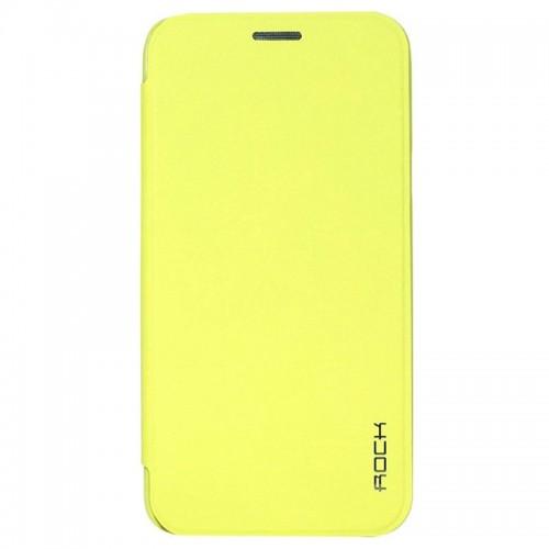 Flip калъф Rock Touch за Samsung G920 Galaxy S6 Зелен